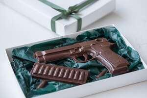 Набор «пистолет с патронами»