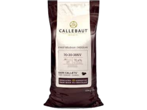 Callebaut, 70-30-38 горький шоколад 70,5% пакет 10 кг