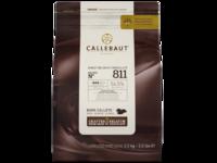 Callebaut, Select 811 темный шоколад 54%, пакет 2,5 кг