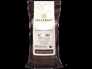 Callebaut, Select 811 темный шоколад 54% пакет 10 кг