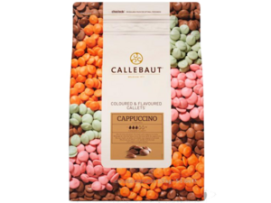 "Callebaut, ""Каппучино"" цветной шоколад, пакет 2,5 кг"