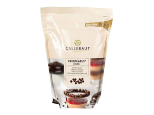 "Callebaut, ""Crispearls"" драже из темного шоколада, 0,8 кг пакет"