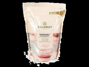 "Callebaut, ""Crispearls"" драже из клубничного шоколада, 0,8 кг пакет"