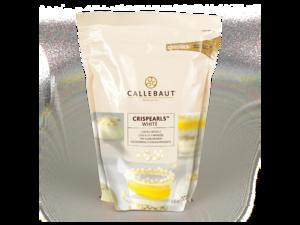 "Callebaut, ""Crispearls"" драже из белого шоколада, 0,8 кг пакет"