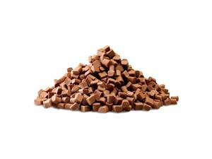 Callebaut, термостабильный молочный шоколад 8х8х6мм, коробка 10 кг