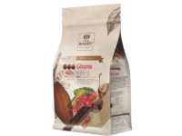 Cacao Barry, Ghana молочный шоколад кувертюр 40%, пакет 1 кг