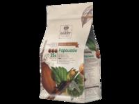 Cacao Barry, Papouasie молочный шоколад кувертюр с ароматом орехов 36%, пакет 1 кг