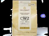 Callebaut, CW2 белый шоколад 25,9% пакет 2,5 кг