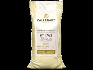Callebaut, CW2 белый шоколад 25,9% пакет 10 кг