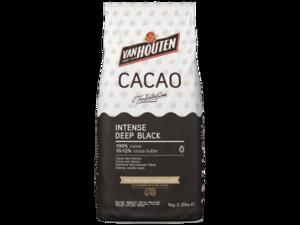 Van Houten, интенсивный черный какао-порошок, пакет 1 кг