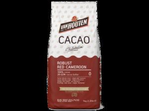 Van Houten, насыщенный красный камерун какао-порошок, пакет 1 кг