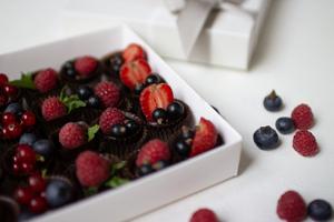 Шоколадные конфеты с ягодами «Ямберри»