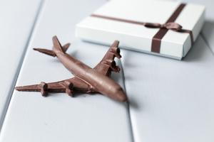Шоколадный самолет Boeing