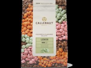 """Callebaut, """"Лимон"""" цветной лимонный шоколад, пакет 2,5 кг"""