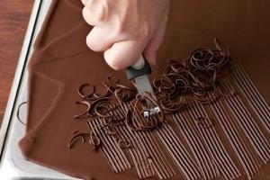 МК для кондитеров «Шоколадный декор» (ДЛЯ ТРОИХ)