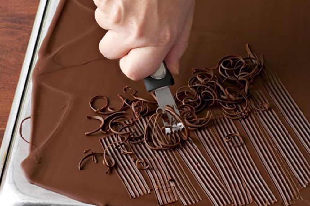Рисунки из шоколада на торт как делать